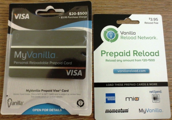 Myvanillacard